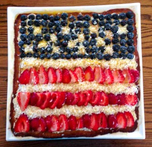 Fruit Tart for the 4th of July